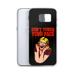 Don't Touch Your Face Samsung Case (Various Options)