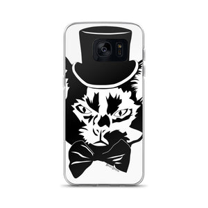 Fancy Cat Samsung Case (Various Options)