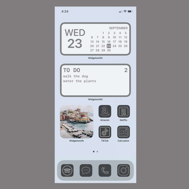 Grey App Icons (30 Pack)