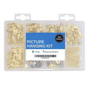 Assorted Picture Hanging Kit | 220 Pieces