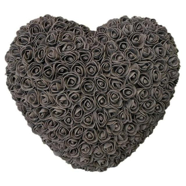 Handcrafted Rose Heart