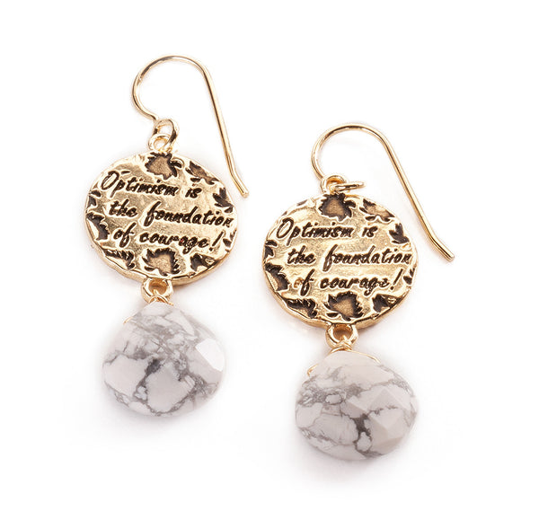 Courage Earrings