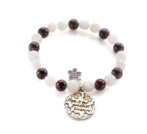 Hope & Fertility Beaded Bracelet