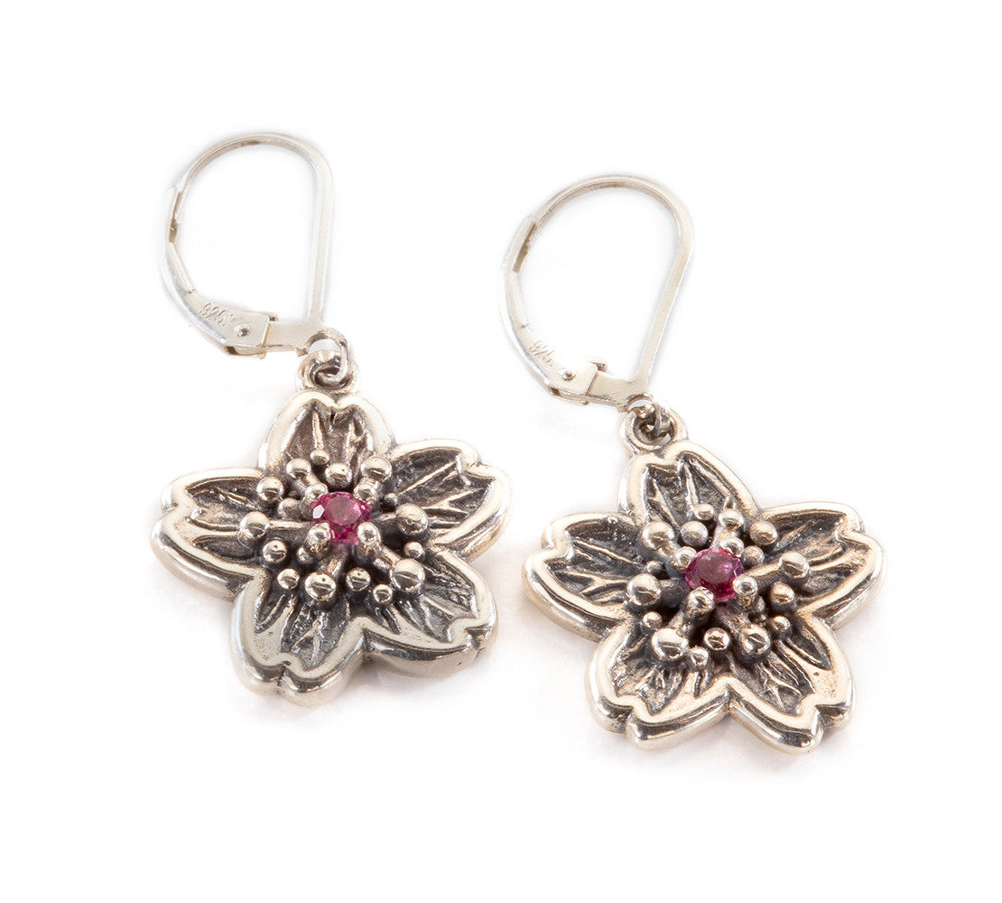 Sakura Cherry Blossom Earrings