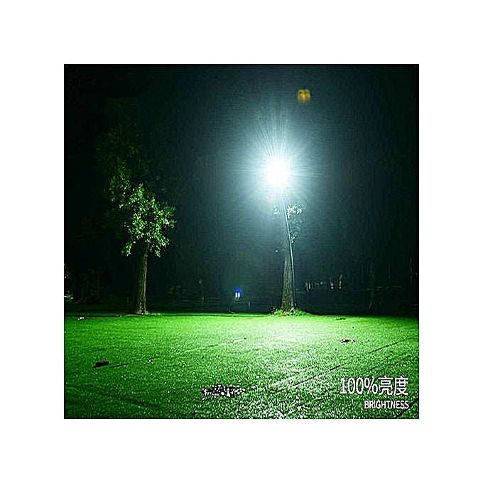 120W Solar Security Auto Swich (Day & Night) Flood Light - Black