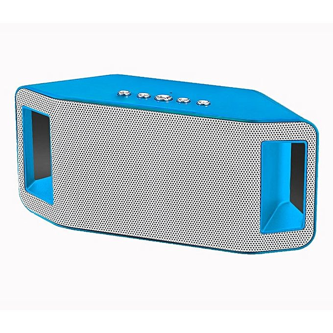 Wster WS-Y66 Bluetooth Speaker - Blue