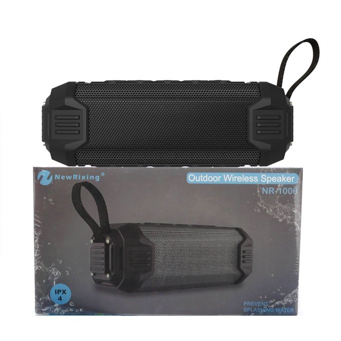New Rixing NR - 1000 Bluetooth Speaker with Mobile Power Bank