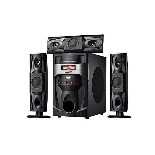FΩL-J3 – 2in1 Woofer,Bluetooth,FM,SD Card, USB Home Theatre Speaker - Black