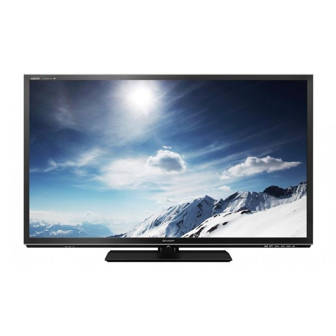 Sharp LC46LE840 46Inch Smart 3D TV With Wifi Adapter - Black
