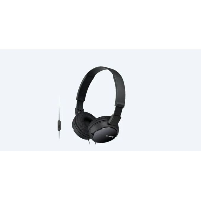 Sony ZX310AP Headphones with Mic - Black