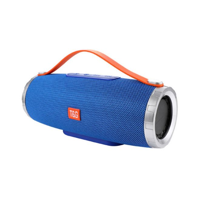 TG109 Portable Wireless Bluetooth V4.2 Stereo Speaker With Handle - Blue