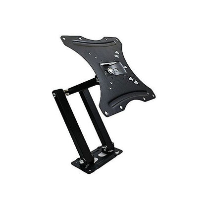 "Full Motion LCD LED TV Wall Mount Tilt Swivel 14-55"" LED, LCD Flat Screen - Black"