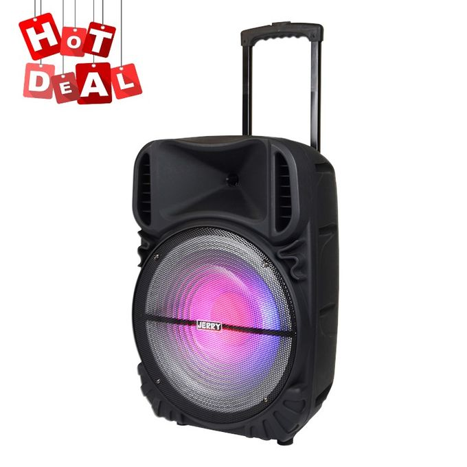 Jerry Q5 Professional karaoke X-Bass Disco LED Light Speaker