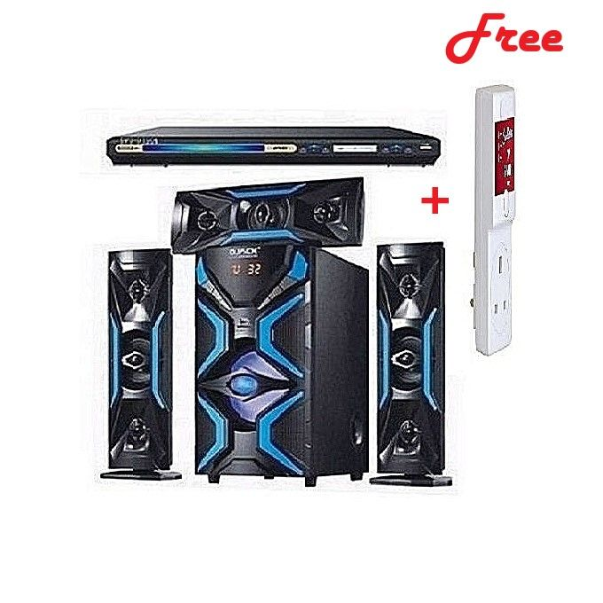 Djack DJ-1503L 3.1CH Heavy Duty Bluetooth Home Theatre System + DVD Player + Free Surge Protector