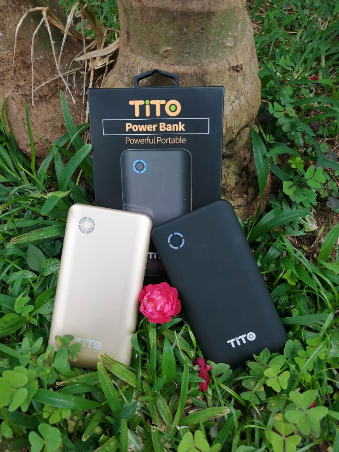 TiTO TPB-05 10000mAh Quick Charge QC 3.0 Power Bank - Color May Vary