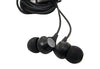 Robot In-Ear Headphones With Mic - Black