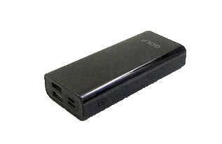 Golf G37 Mini 10,000mAh Portable Power Bank With Full Screen Digital Display - Black