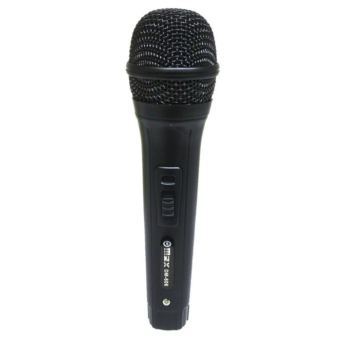 Max DM-606 Dynamic Wired Microphone - Black