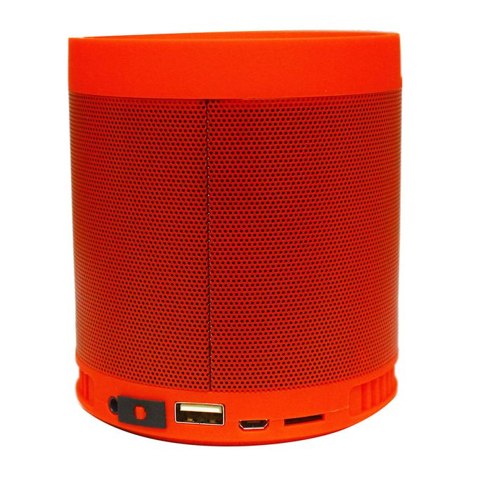 HF-Q3 Multi-Functional Rechargeable Wireless Speaker - Red