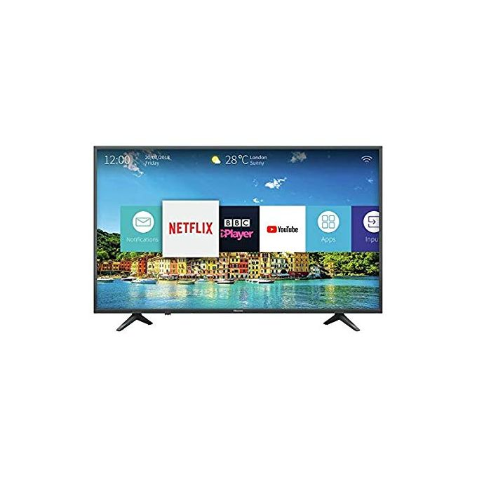 Hisense 50-Inch 4K Ultra HD Smart TV With In-Built WIFI - Black