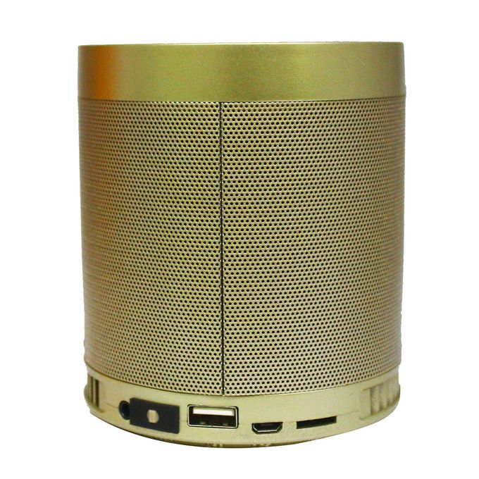 HF-Q3 Multi-Functional Rechargeable Wireless Speaker - Golden