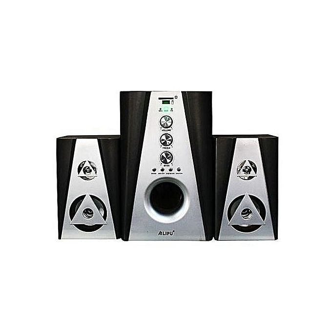 Ailipu SP-2201 2.1 Bluetooth, FM, SD Card, USB Speaker - Black,White