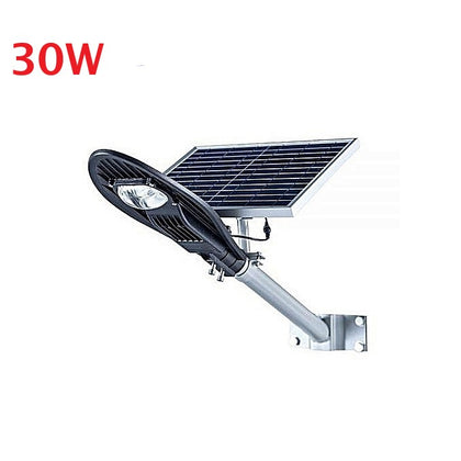 30W LED COB Head Solar Street Light Auto switch on & off at night and day - Silver