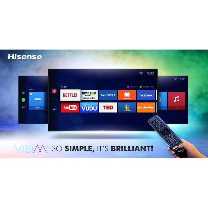 Hisense 49N2170PW 49″ Smart 4K UHD TV With HDR - Black