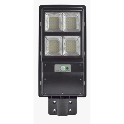 40W LED Solar Motion Sensor Street Light - Black