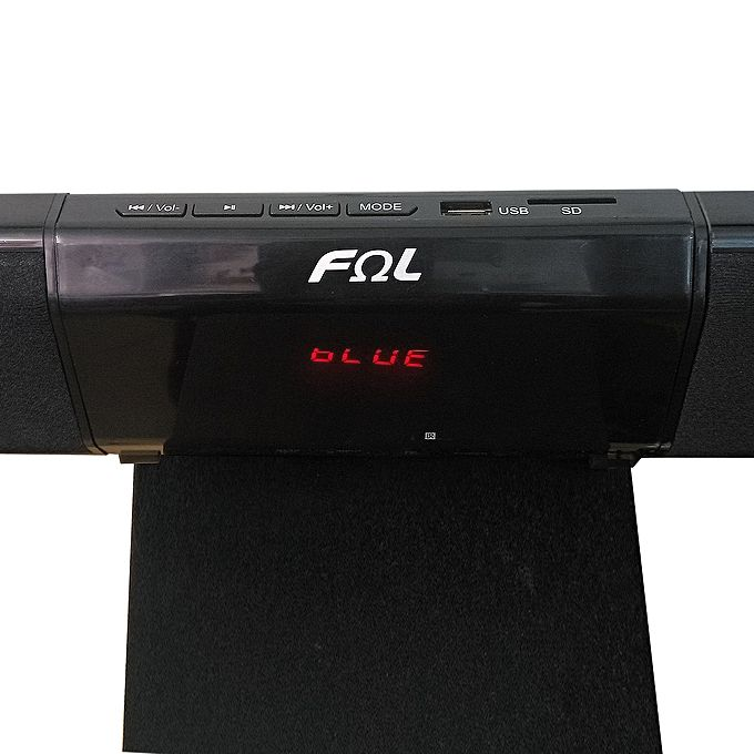 FΩL-FS-023 BTSlim Sound Bar Subwoofer Multimedia Home Theater System - Black