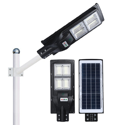 70W LED All in One Integrated Solar Street Light - Black