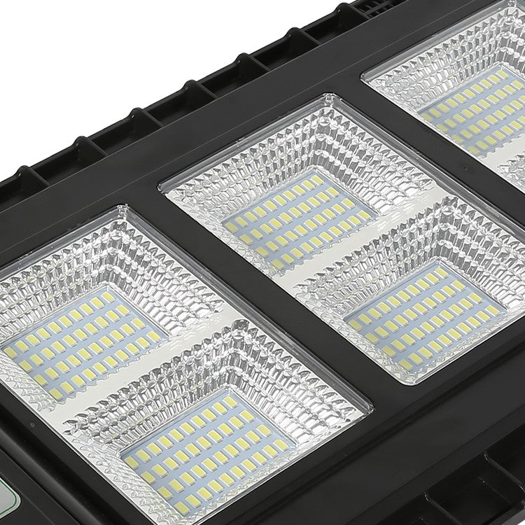 140W LED All in One Integrated Solar Street Light - Black