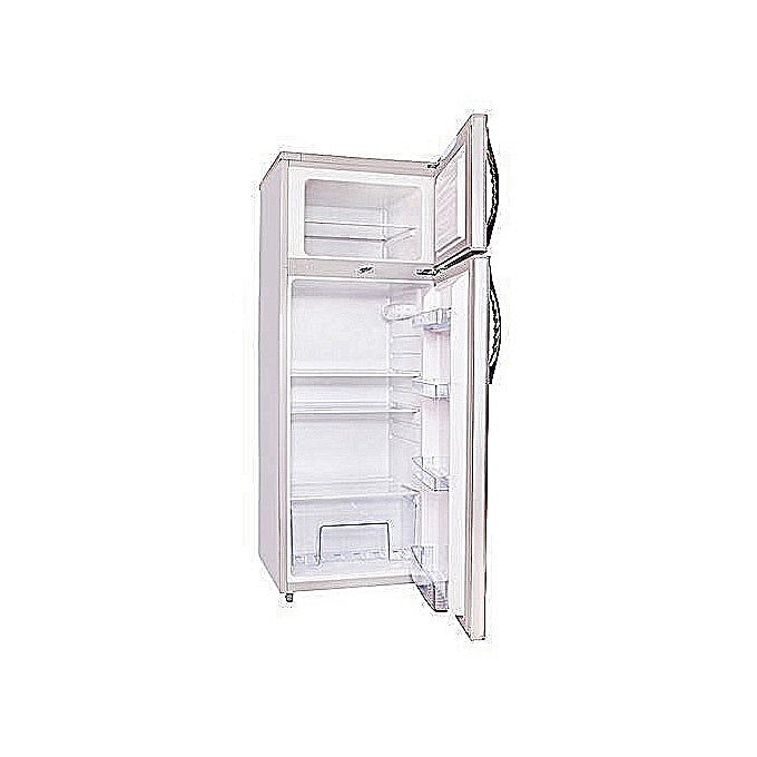 ADH BCD8139-5B -158 Liters - Double Door Refrigerator - Silver