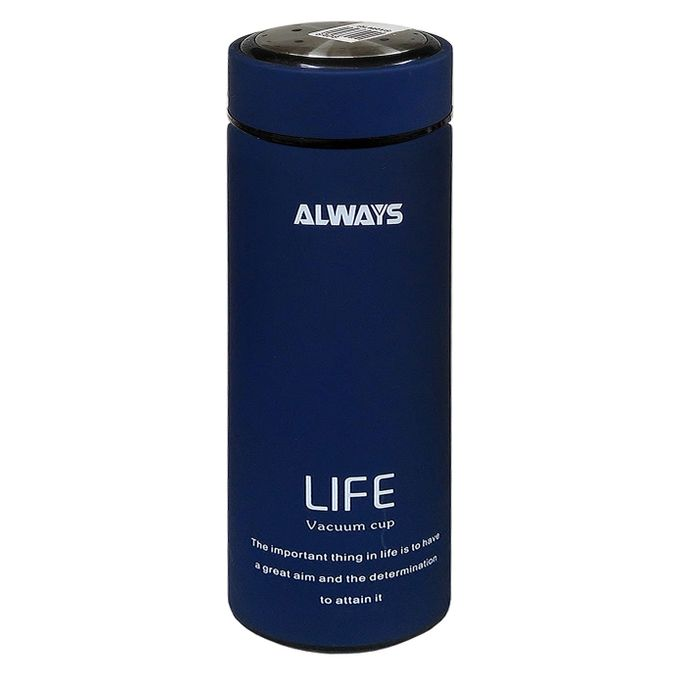Always 450ml Always Life Slim Vacuum Bottle - Blue