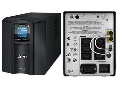 APC Smart-UPS C 2000VA LCD 230V (SMC2000I) - Black