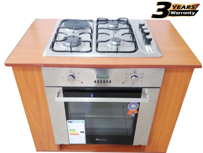 BlueFlame 43IC Stainless Steel Cooker Inbuilt Design - Inox