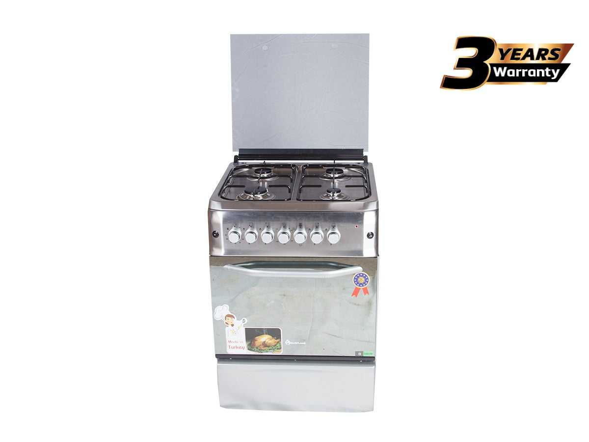 Blueflame S6040GRFP-I Full Gas Stainless Steel Cooker 60x60cm - Inox
