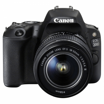 Canon EOS2000 DSLR 24MP Camera - Black