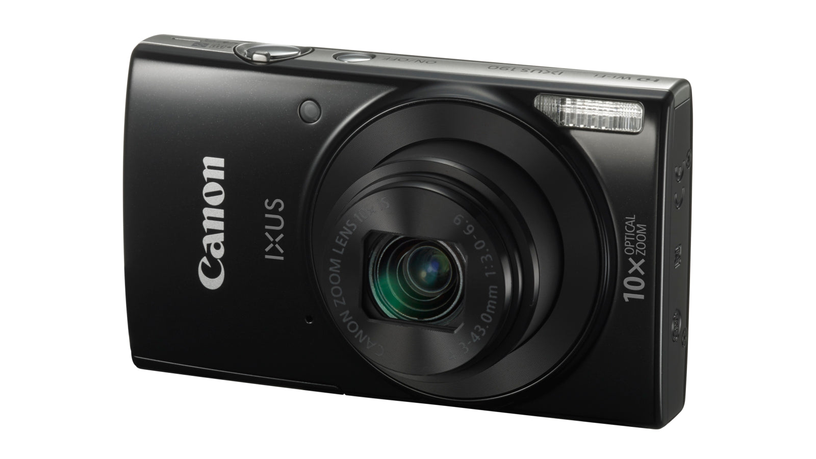 Canon IXUS 190 Ultra Slim Digital Camera - Black