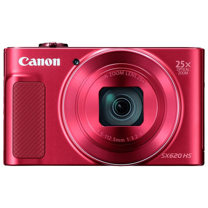Canon PowerShot SX620 HS 20.2MP Digital Camera -Maroon