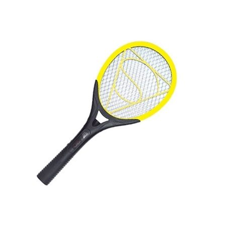 LED-802 Rechargeable Electronc Mosquito Bat - Yellow,Black