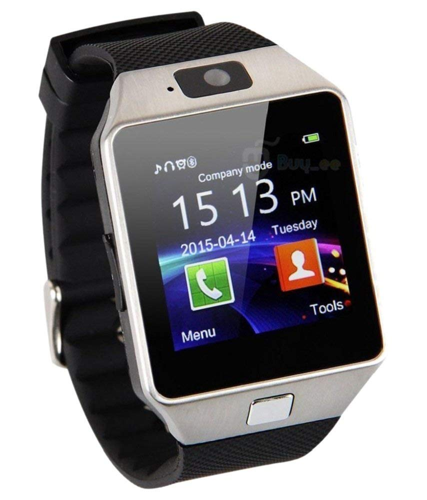 Dz09 Bluetooth Camera Smart Watch for Iphone and Android Smartphones - Black,Silver