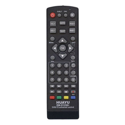 HUAYU Universal Remote Controller For Digital Receivers - Black