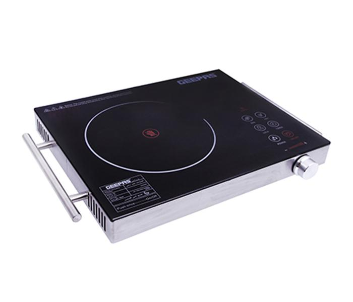 Geepas GIC6920 Digital Infrared Cooker, 2200W - Silver Black