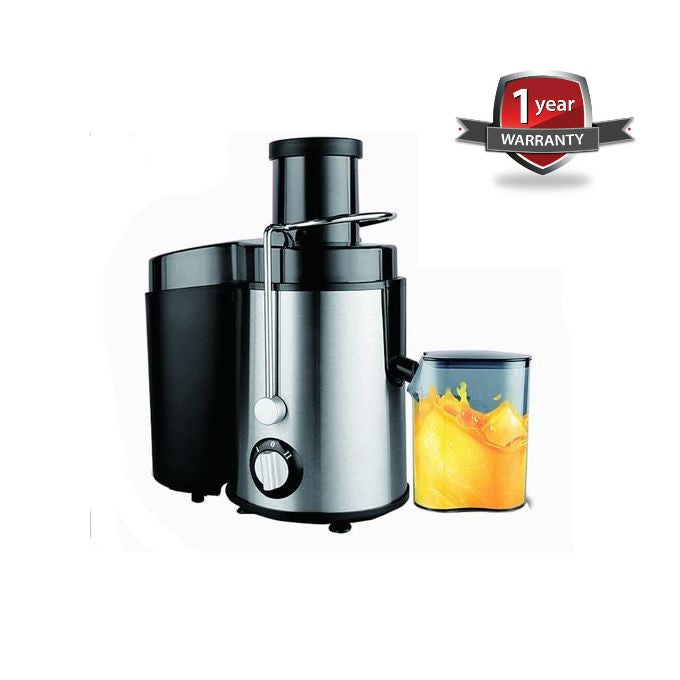 400W Electro Master JE-1186 Deluxe Juicer - 0.75 Litres - Silver