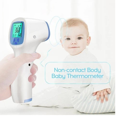 FY-02 Non-Contact Electronic Forehead Medical Infrared Thermometer (CE ROHs Certified) - White