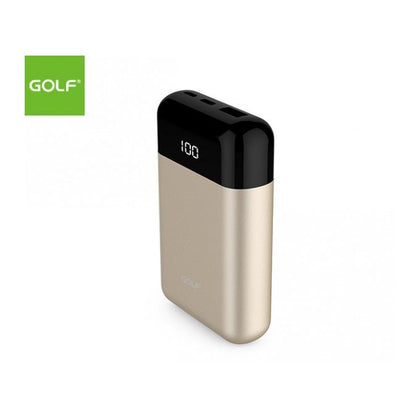 Golf 20000mAh Digital Display Portable Power Bank - Black