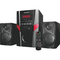 GLOBALSTAR GS-4002 Home Speaker System 2.1 Channel Hifi Enabled - Black