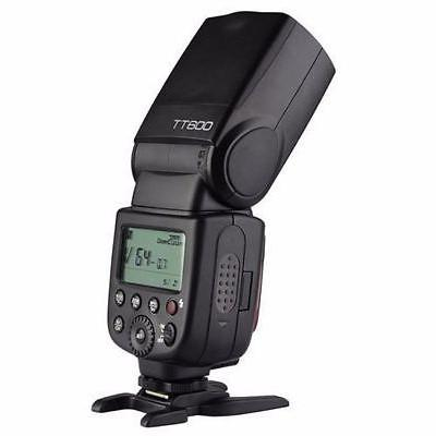 Godox TT600 2.4G WIRELESS Speedlite Flash For Camera - Black