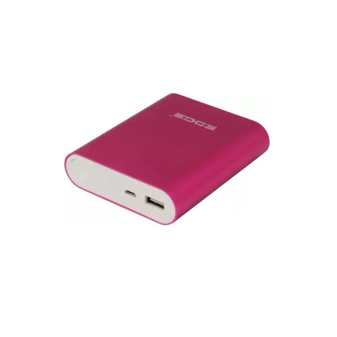 Golf Edge X3 10,000mAh QC 3.0 Quick Charge Power Bank - Pink